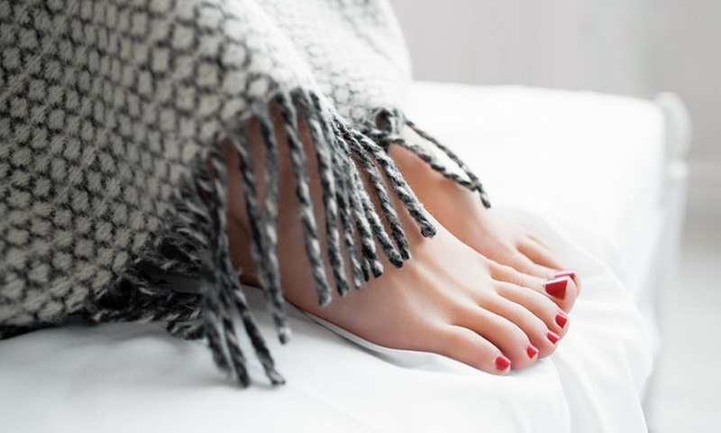 Winter protection for the hands, feet