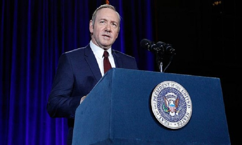 Kevin Spacey: Netflix halts House of Cards production