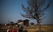 Drone delivers food to Japan town hit by nuclear disaster