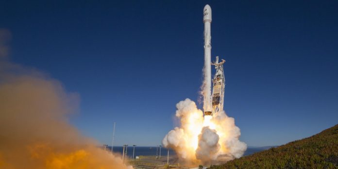 10 commercial satellites launched from California