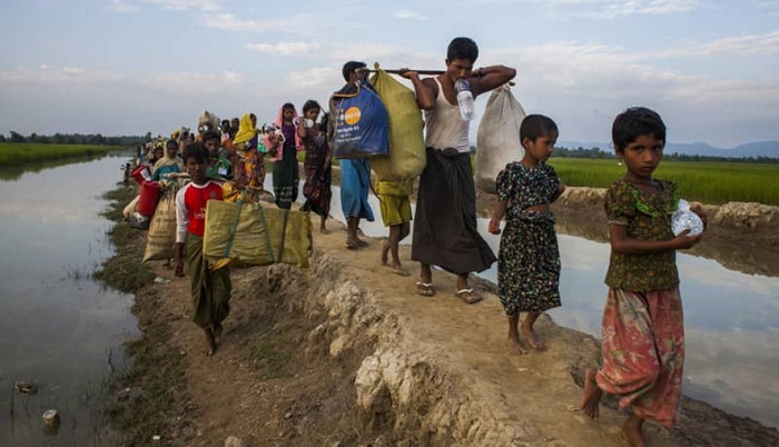 1,718 more Rohingyas enter Bangladesh