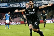Aguero gets City record in Maradona's stadium