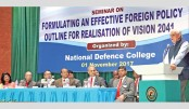 Seminar on foreign policy held at NDC