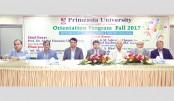 Freshers accorded reception at Primeasia University