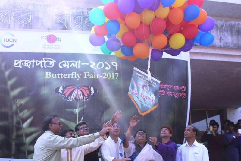 Butterfly fair held at JU