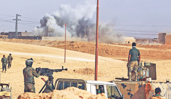IS loses territory in Syria, Iraq