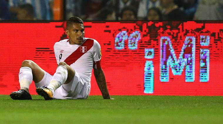 FIFA suspend Peru striker Guerrero for failing doping test