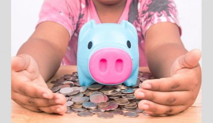 Girls lag behind boys in school banking