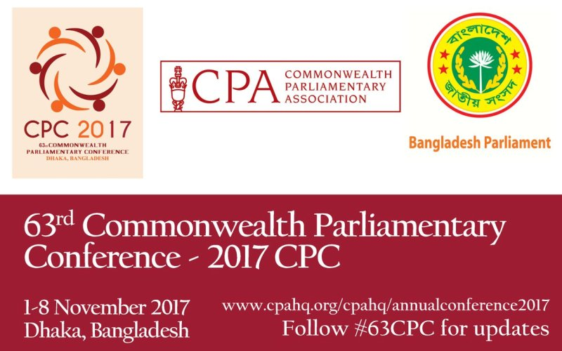 Prime Minister opens 63rd CPA Conference today