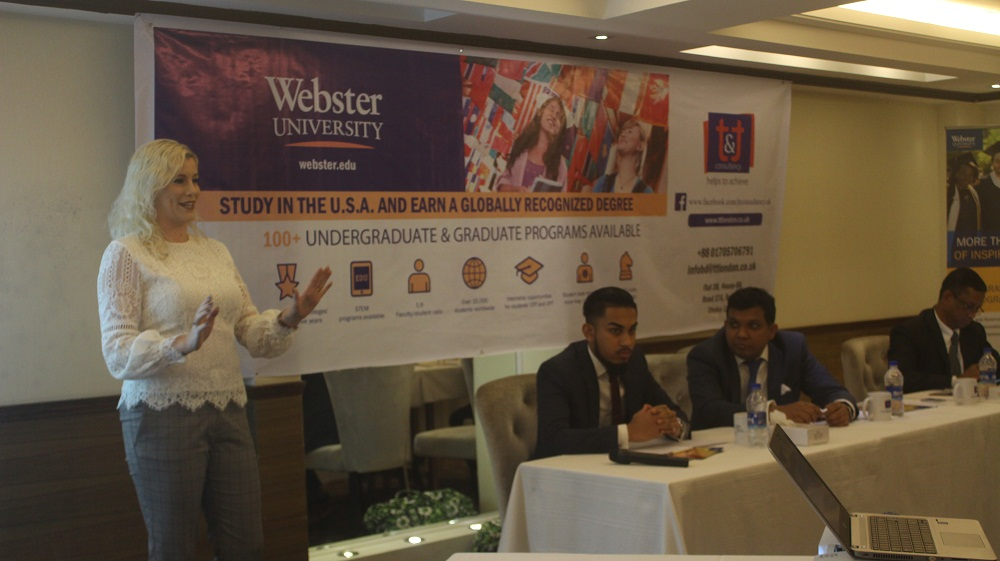 Webster University announces scholarship for Bangladeshi students