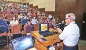 "Seminar on ""Achieving Hunger Free Bangladesh"" held at IUB"