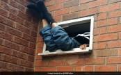 Burglar tries to break into takeaway restaurant; gets stuck in ventilator for 7 hours