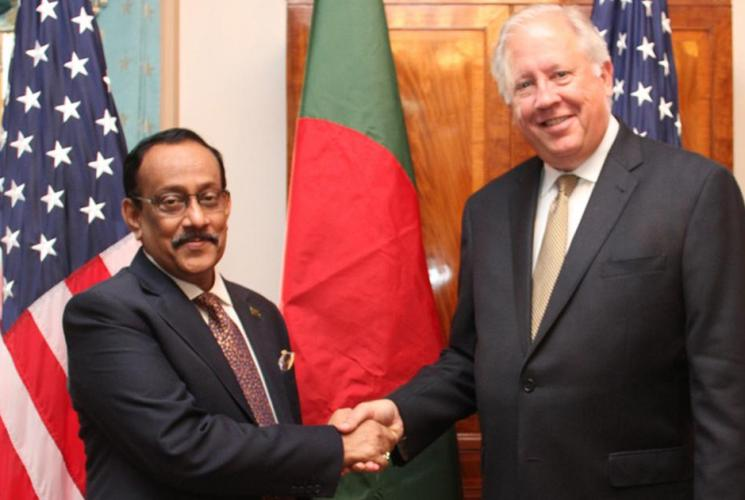 Dhaka-Washington partnership dialogue begins in city