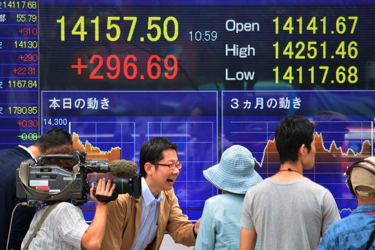 Tokyo stocks open higher tracking gains in US