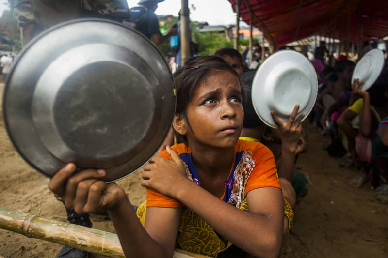 Nutritional status of Rohingya children very worrying: IOM
