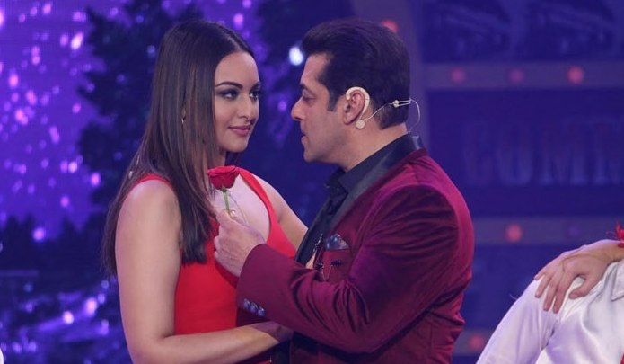 I ask Salman Khan what you have fought with me on now: Sonakshi Sinha