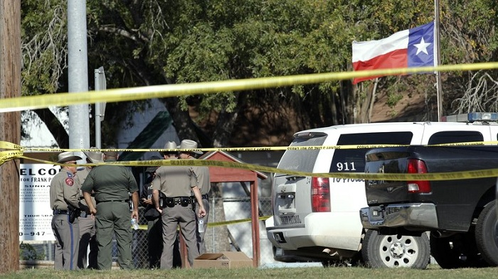 Texas church shooting leaves at least 26 dead