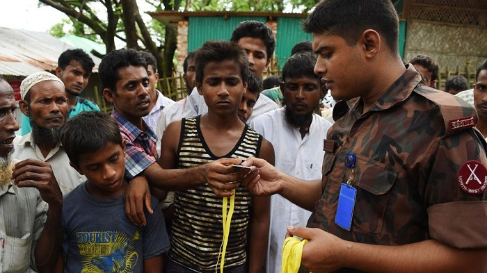 26 detained for illegally staying at Rohingya camp