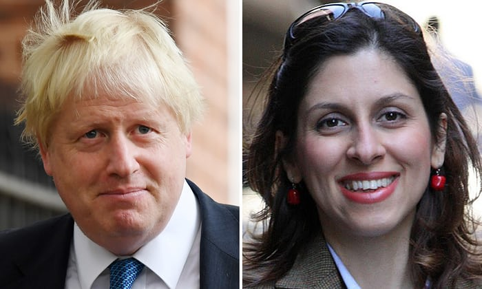 Johnson seeks to clarify remarks over Briton jailed in Iran