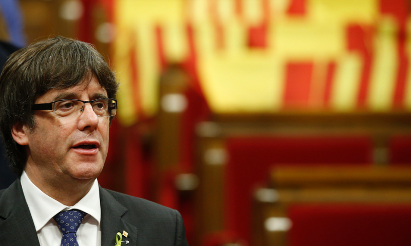 Ousted leader: Europe must speak up for Catalan separatists