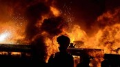 Amin Jute Mill in Chittagong catches fire