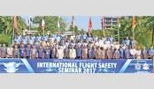 Int'l seminar on flight safety begins