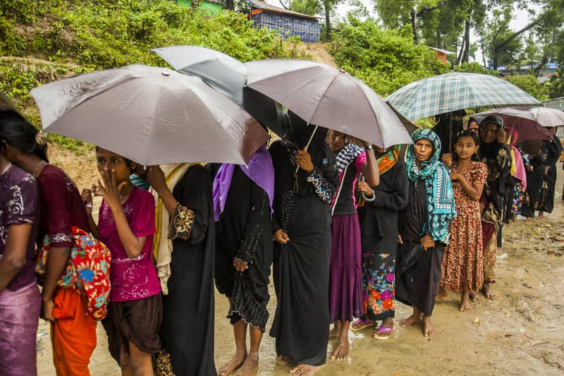 Some 4.5 lakh Rohingyas biometrically registered