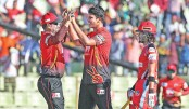 Chittagong collapse as  Comilla seal big win