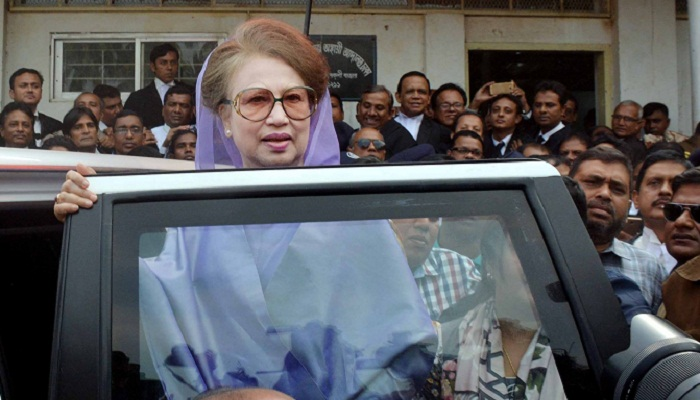 Khaleda urges judge to ensure justice as per law