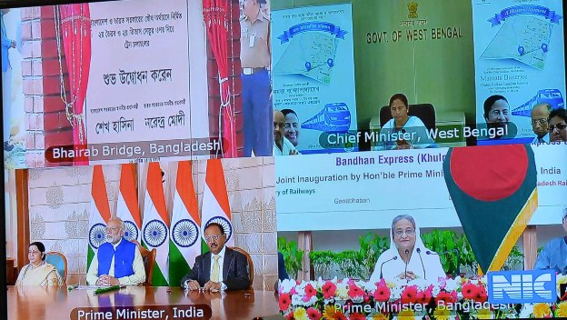 Modi stresses boosting ties among neighbours