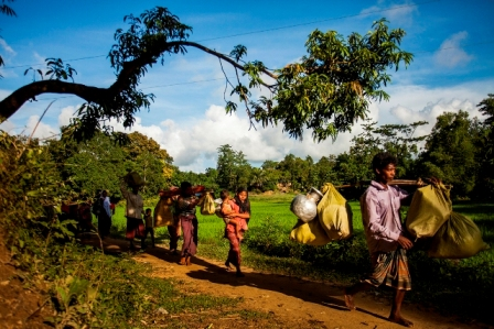 Ease pressure of Rohingya crisis on Cox's Bazar: Rights group