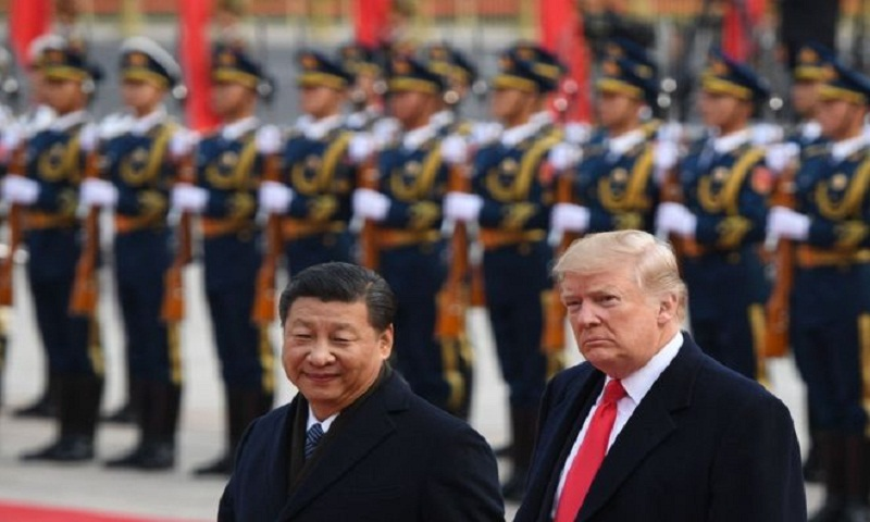 Trump cooperates with Chinese effort to control image