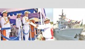 President asks navy to be watchful to ensure marine security