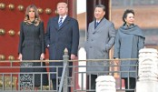 Trump arrives in China amid North Korea tensions