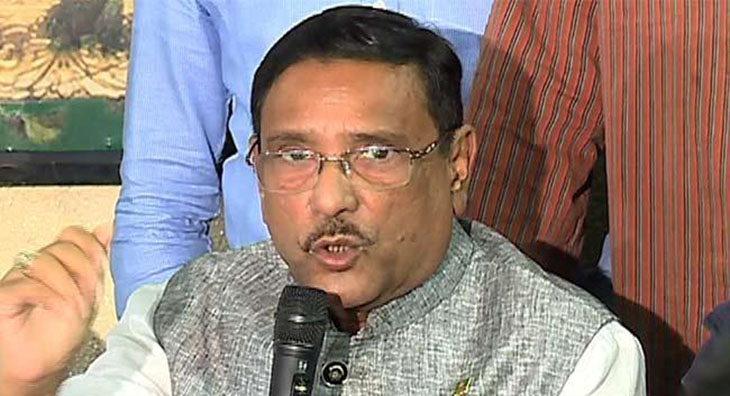 14-party will call meeting over Inu's remarks: Quader