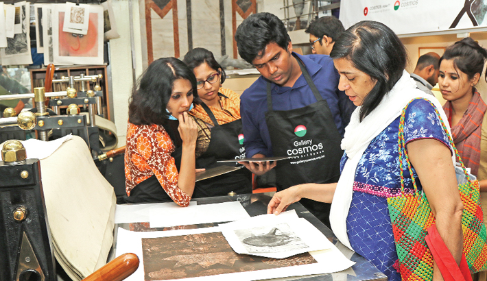 Gallery Cosmos Arranges Group Printmaking Exhibition