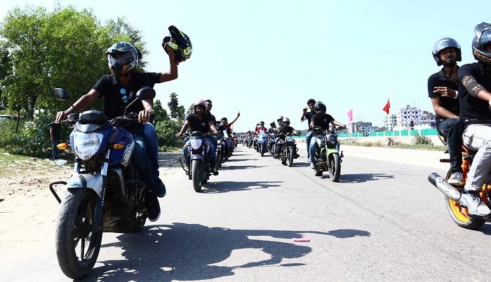 First ever Dhaka Bike Carnival begins