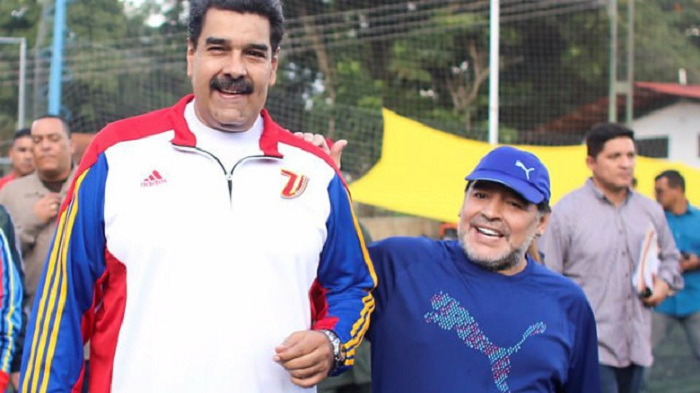 Venezuelan TV signs Maradona for World Cup 2018 show