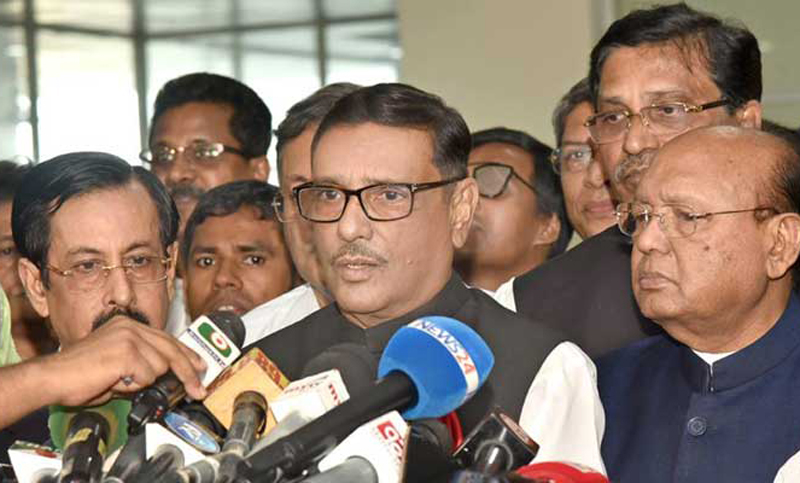 Quader sees no need of dialogue with BNP