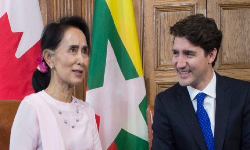 Trudeau to meet with Myanmar leader Suu Kyi at APEC summit Friday