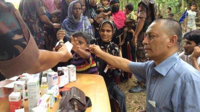 106 medical teams serve 4.50 lakh Rohingyas