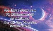 Muhammad (pbuh) for mankind