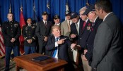 Vietnam veteran thwarted in efforts to meet draft-dodging Trump