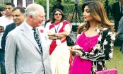 Shilpa Shetty discusses yoga with Prince Charles in Delhi