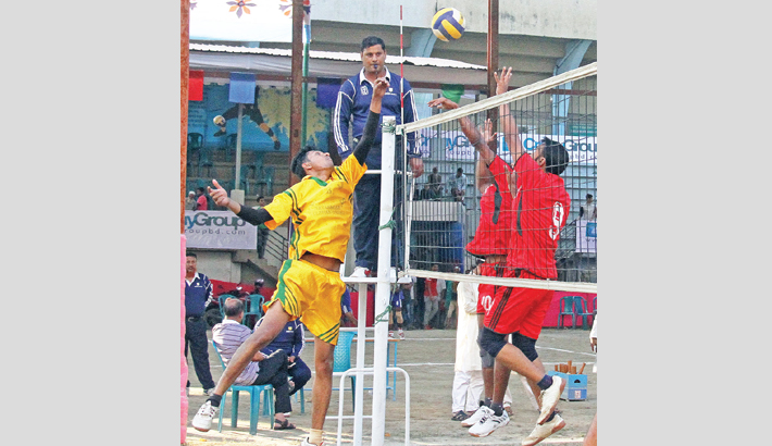 Volleyball league running on full rhythm
