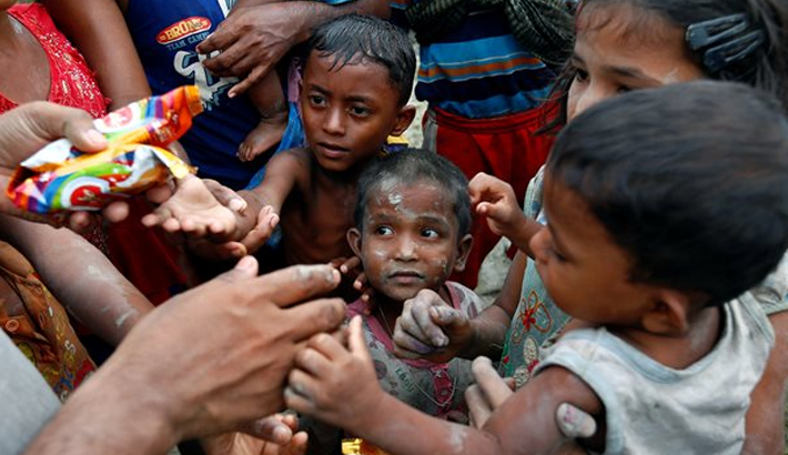 Rohingya children face death by malnutrition