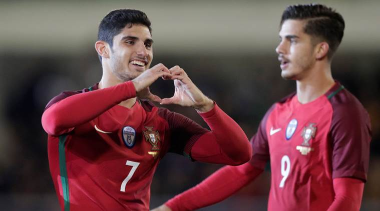 Guedes leads Portugal to 3-0 win over Saudi Arabia