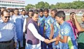 Sheikh Russel Gold Cup Football kicks off at Magura