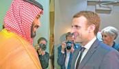 Macron visits Riyadh as  Saudi-Iran tensions soar