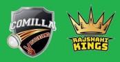 Comilla Victorians need 116 runs against Rajshahi Kings